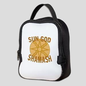 Sun God Shamash Neoprene Lunch Bag