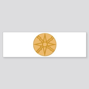 Star of Shamash Bumper Sticker