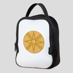 Star of Shamash Neoprene Lunch Bag