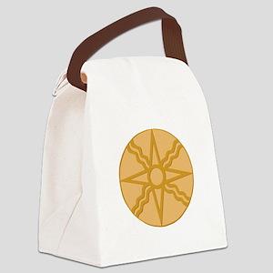 Star of Shamash Canvas Lunch Bag