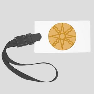 Star of Shamash Luggage Tag