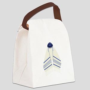 Tallit & Yamaka Canvas Lunch Bag
