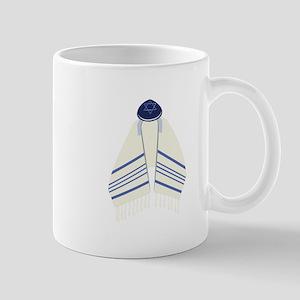 Tallit & Yamaka Mugs