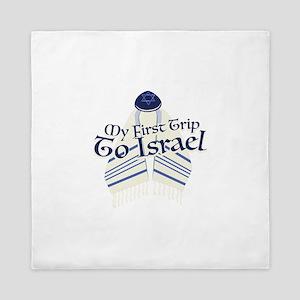 Trip To Israel Queen Duvet