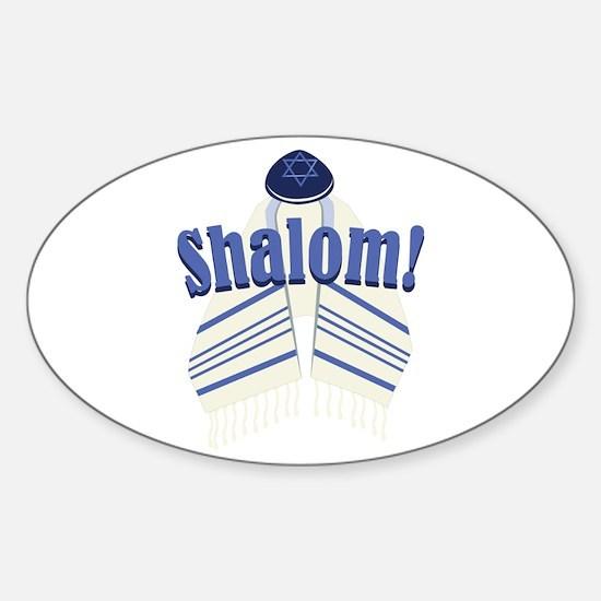 Shalom! Decal