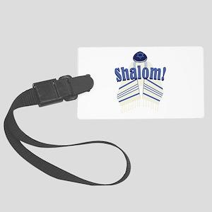 Shalom! Luggage Tag