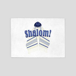 Shalom! 5'x7'Area Rug