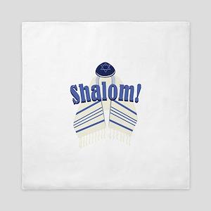 Shalom! Queen Duvet