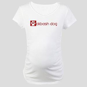 Akbash Dog (dog paw red) Maternity T-Shirt