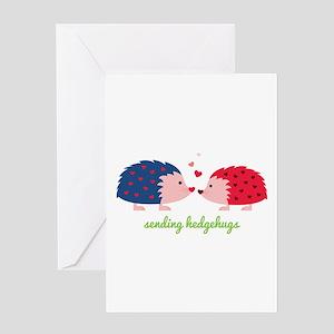 Sending Hedgehugs Greeting Cards