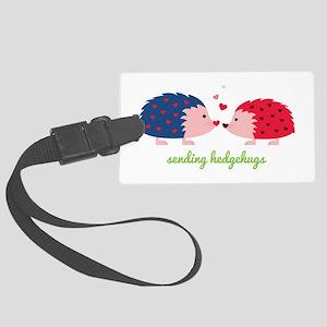Sending Hedgehugs Luggage Tag
