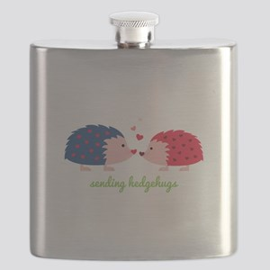 Sending Hedgehugs Flask