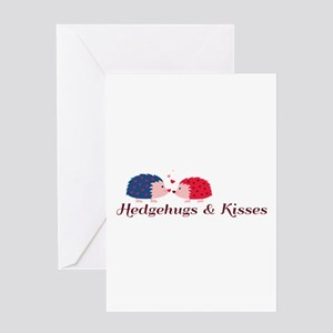 Hedgehugs & Kisses Greeting Cards