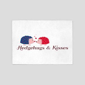 Hedgehugs & Kisses 5'x7'Area Rug