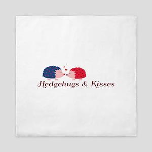 Hedgehugs & Kisses Queen Duvet