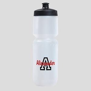 Personalized Monogrammed Sports Bottle