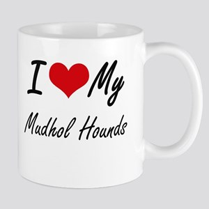 I Love My Mudhol Hounds Mugs