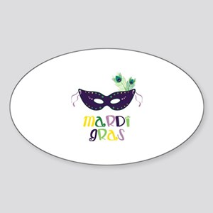 Mardi Gras Sticker
