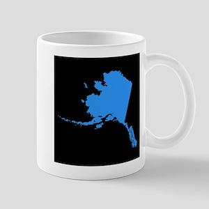 alaska blue black Mug
