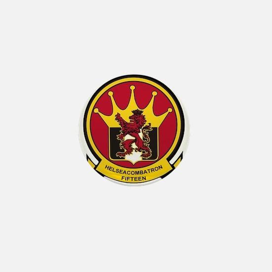 HSC 15 Lions Crest Mini Button