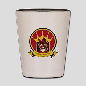 HSC 15 Lions Crest Shot Glass