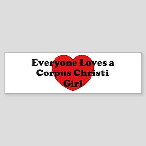 Corpus Christi girl Bumper Sticker