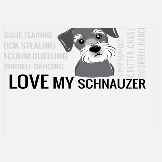 Cute Schnauzer Wall Art