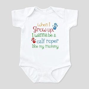 Calf Roper Like Mommy Infant Bodysuit