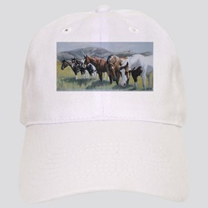 Pretty Horses all in a row Baseball Cap