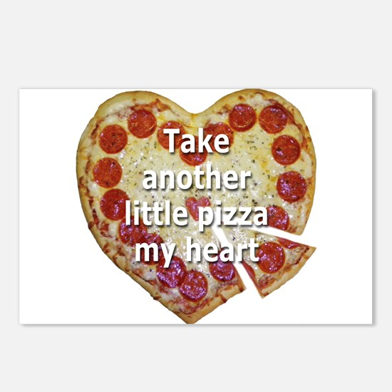 Pizza My Heart Postcards (Package of 8)