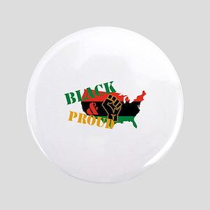 Black & Proud Button