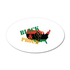 Black & Proud Wall Decal