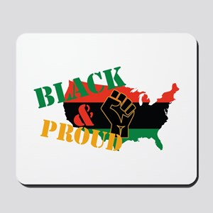 Black & Proud Mousepad