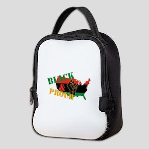 Black & Proud Neoprene Lunch Bag