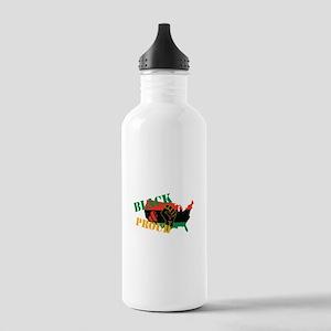 Black & Proud Water Bottle