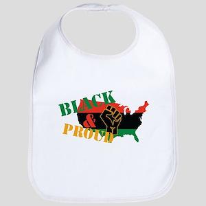 Black & Proud Bib