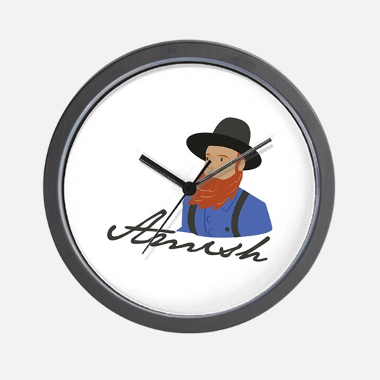 Amish Wall Clock