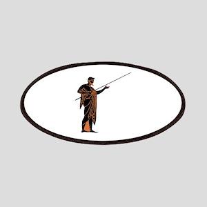 Greek Warrior Patch