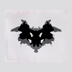 Rorschach Test Throw Blanket