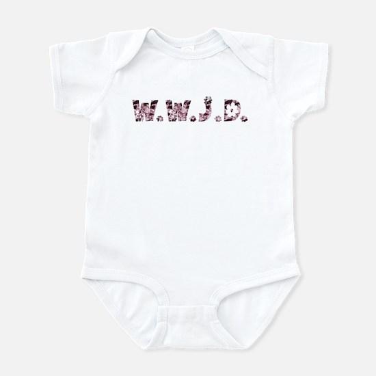 Satin Hippie WWJD Infant Bodysuit