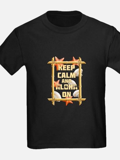 Keep Calm And Aloha On T-Shirt