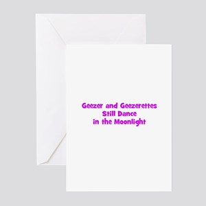 Geezer and Geezerettes Still  Greeting Cards (Pk o