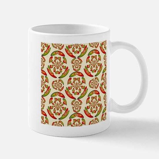 Portuguese flag pattern Mugs