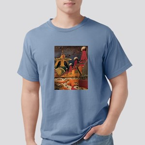 Vintage Science Fiction Futuristic City T-Shirt