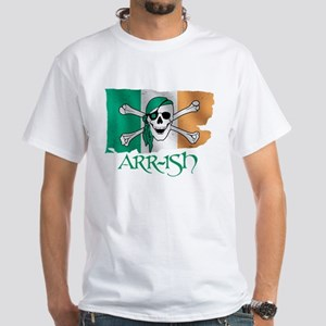 Arr-ish Pirate White T-Shirt