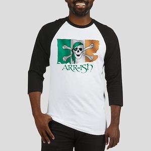 Arr-ish Pirate Baseball Jersey