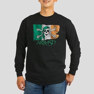 Arr-ish Pirate Long Sleeve Dark T-Shirt