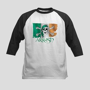 Arr-ish Pirate Kids Baseball Jersey