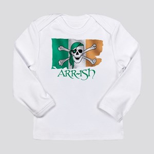 Arr-ish Pirate Long Sleeve Infant T-Shirt