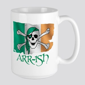 Arr-ish Pirate Large Mug